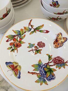 Cores em porcelana