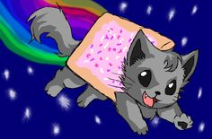 Nyan Cat Drawing Images & Pictures - Becuo