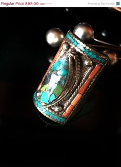 Mothers Day SALE Nepal Jewelry RARE MOSAIC by taneesijewelry