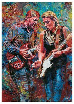 """Tedeschi Trucks Band art print """"Captured Spirits"""""""