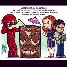 Lord Mesa-----Barry, Caitlin and Cisco