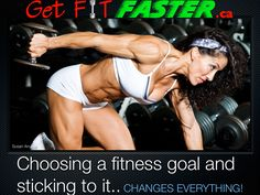 Be decisive and determined to reach your fitness goals! Join us @ www.getfitfaster.ca for motivation, workouts, and much more...