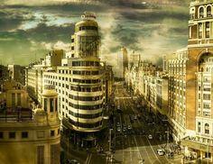 Gran Vía. Madrid.