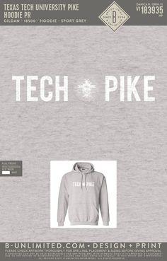 Pi Kappa Alpha PR Hoodie   Fraternity Event   Greek Event #pikappaalpha #pike #pka # Pi Kappa Alpha, Texas Tech University, Fraternity, Greek, Hoodies, Mens Tops, Design, Sweatshirts, Hoodie
