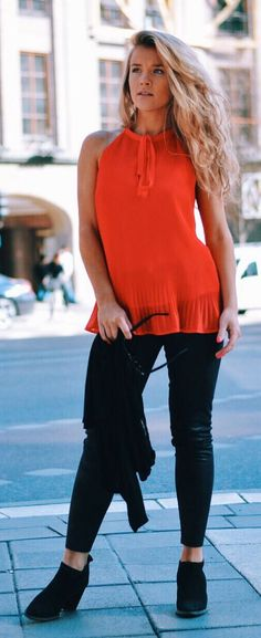 Red Top Streetstyle