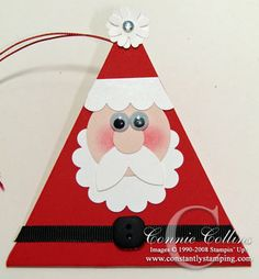 Santa Clause triangle box. | #christmasgift http://www.sweitrade.net