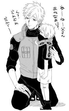 Sakumo & Kakashi