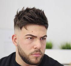 Cool Men's Haircuts 2019 Short textured haircut for men with mid bald fade. Haircut by Agus De Asis.Short textured haircut for men with mid bald fade. Haircut by Agus De Asis. Best Hairstyles For Older Men, Older Mens Hairstyles, Cool Mens Haircuts, Hairstyles Haircuts, Men Hairstyle Short, Fresh Haircuts, Male Haircuts, 2018 Haircuts, Men's Hairstyle
