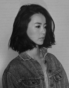 Short hair inspiration (Jung Yoo-mi photographed by Moke Najung)