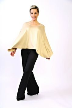 Our newest edition to the Chick on the Go line.  This poncho transforms into a multitude of different styles...check it out on www.thechickonthego.com