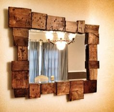 1000 Images About Rustic Mirrors On Pinterest Rustic