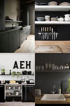 boxwood clippings_black walls