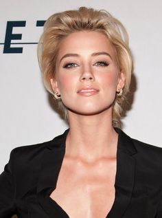 GoodGoodGorgeous: AMBER HEARD's hair & make up style...