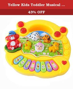 Yellow Kids Toddler Musical Educational Animal Farm Piano Music Toy Do Re Mi Key. Brand:New.Model:Play Farm Piano.Gender:Unisex.Color:See picture.1 x Animal Farm Piano Music Toy. Feature: 100% Brand New and high quality Size:17.8cm(L)x 15.3cm(W)x3.5cm(H) Suits for kids above 3 years-old. Power:3x AA 1.5V (Not Included!) Package included:1 x Animal Farm Piano Music Toy.