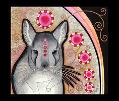 Chinchilla as Totem by Ravenari.deviantart.com on @deviantART