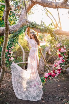 Extra Long French Lace Robe for Bride A must-have for every