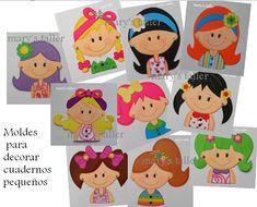 $20.00 CADA MOLDE, USTED ELIGE LOS QUE LE GUSTEN Y SE LOS ENVIAMOS SIN COSTO ALGUNO ASI COMO LAS INSTRUCCIONES DE COMO ELABORAR LAS FIGURAS... Kids Crafts, Foam Crafts, Diy And Crafts, Craft Projects, Projects To Try, Arts And Crafts, Art Classroom Posters, Notebook Covers, Finger Puppets