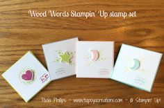 #WoodWords #StampinUp - handmade by Paola Phillips