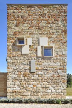 Villa Sara, Partanna Mondello, Palermo Sicily | renovation/adaptive re-use  of stone ruin farm buildings.