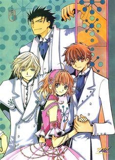 Fye & Kurogane & Sakura & Syaoran | Tsubasa Reservoir Chronicle #manga