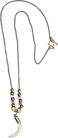 VANESSA MOONEY BROOKLYN TOOTH NECKLACE   http://www.swell.com/VANESSA-MOONEY-BROOKLYN-TOOTH-NECKLACE?cs=SI