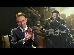 Tom Hiddleston MTIME Interview. It saddens me that I will never find a man like him...sings Disney songs AND loves Shakespeare ♥♥♥
