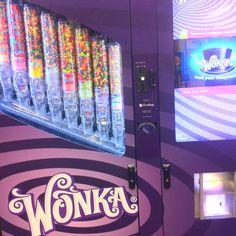 Wonka candy vending machine. :)