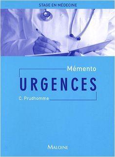 Télécharger Livre Mémento Urgences PDF Ebook Gratuit