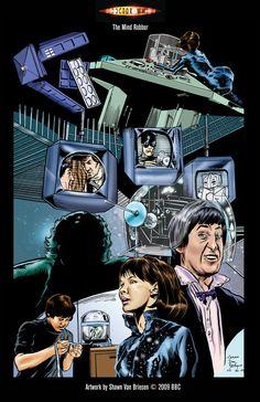 Doctor Who The Mind Robber by ShawnVanBriesen.deviantart.com on @DeviantArt
