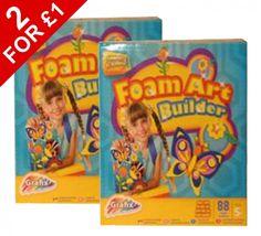2 x Foam Art Builder Kits