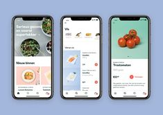 Crisp, a new app-only supermarket, has officially launched its service in the Netherlands after securing million in seed funding. Mobile Design, App Design, Ios Design Guidelines, Supermarket App, Foodies, Crisp, Seeds, Product Design, Android