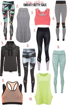 Sweaty Betty picks -- on sale for Black Friday