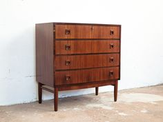 Vintage Danish Chest of Drawers in Rosewood by Brouer