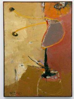 """Richard Diebenkorn, """"Untitled  2"""" 1949"""