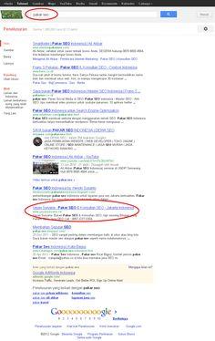 Iseng-iseng, blog baru saya masuk deretan para Pakar SEO Indonesia. Menerapkan SEO untuk Bisnis itu adalah Hal yang sangat cepat untuk mendapatkan Uang dari Internet. Walaupun butuh waktu lama untuk mempelajari semua Tentang SEO.