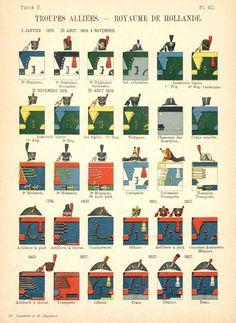 Королевство Голландия 1809 Союзные войска. Uniformes de I'Armee Francaise 1690-1894 Lienhart & Humbert
