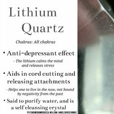 Lithium Quartz meaning Crystal Uses, Crystal Magic, Crystal Grid, Quartz Crystal, Minerals And Gemstones, Crystals Minerals, Stones And Crystals, Gem Stones, Gemstones Meanings