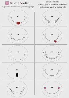 Moldes Grátis | Free Sewing Patterns: Caras