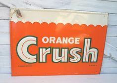 Vintage Orange Crush... make anyone else think of the 1980s Denver Broncos?