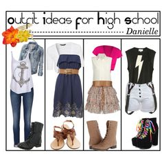 Polyvore Outfits for High School | Outfit ideas for high school - Polyvore---- I like te first and last one