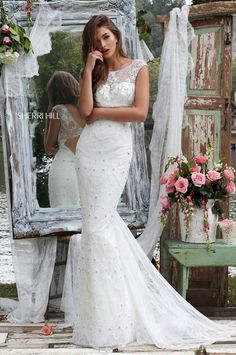 Sherri Hill 2016 Wedding Dress