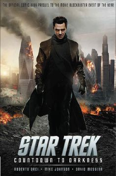 A first look at Star Trek – Countdown To Darkness  Benedict Cumberbatch was absolutely incredible! :)
