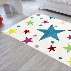You'll love the Stars Cream/Blue/Red Rug at Wayfair.co.uk - Great Deals on all Home Décor products with Free Shipping on most stuff, even the big stuff.