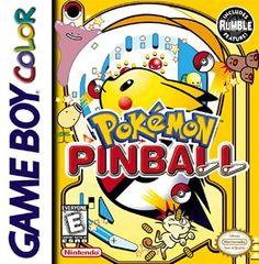 Pokémon Pinball para Game Boy Color.