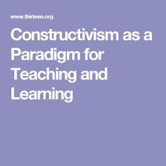 Professional development for educators on the subject constructiveness in the classroom.