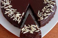 Chocolate Almond Quinoa Cake prep 31