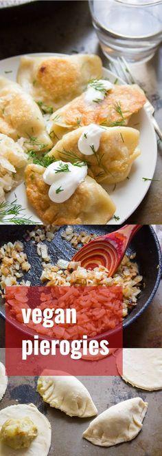Caramelized Onion & Potato Vegan Pierogies!!! - 22 Recipe