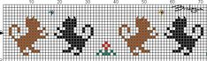 Beading 2020 – The Best Beading Ideas Are Here Cross Stitch Borders, Cross Stitch Animals, Cross Stitch Charts, Cross Stitch Designs, Cross Stitching, Cross Stitch Embroidery, Cross Stitch Patterns, Beading Patterns Free, Bead Loom Patterns