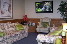 Front Room Cosmetic Dentistry, Couch, Bed, Room, Furniture, Home Decor, Bedroom, Decoration Home, Room Decor