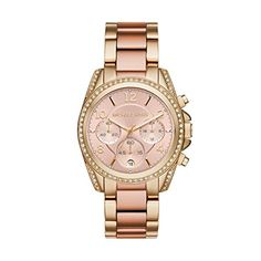 Michael Kors Womens  Blair TwoTone Watch MK6316 >>> Visit the image link more details.